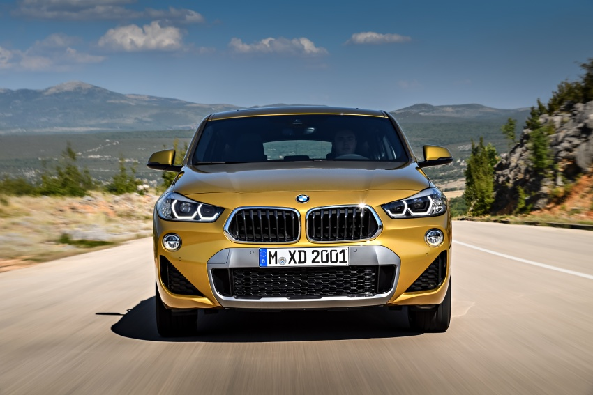 F39 BMW X2 unveiled with new M Sport X package Image #728976