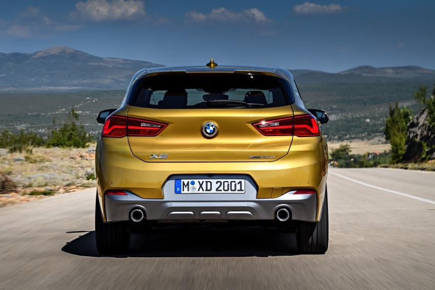 F39 BMW X2 unveiled with new M Sport X package Image #728977