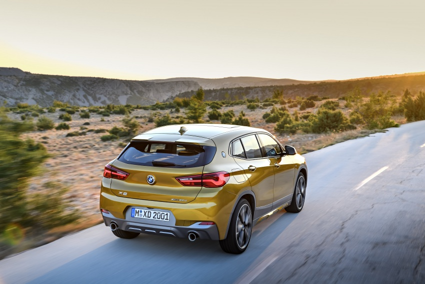 F39 BMW X2 unveiled with new M Sport X package Image #728978