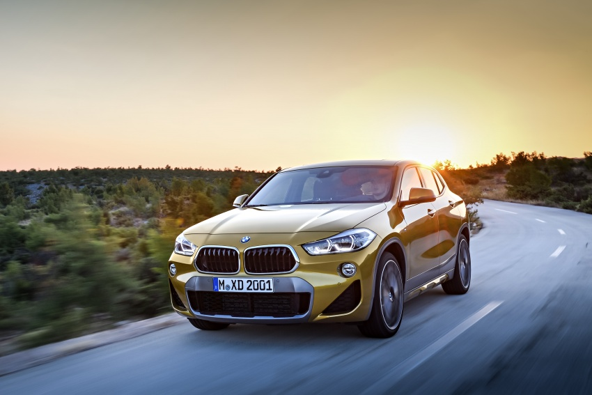 F39 BMW X2 unveiled with new M Sport X package Image #728979