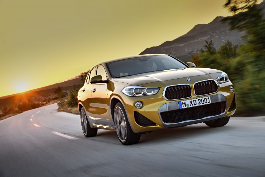 F39 BMW X2 unveiled with new M Sport X package Image #728980