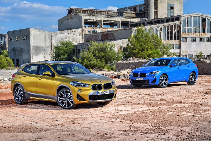F39 BMW X2 unveiled with new M Sport X package Image #728981