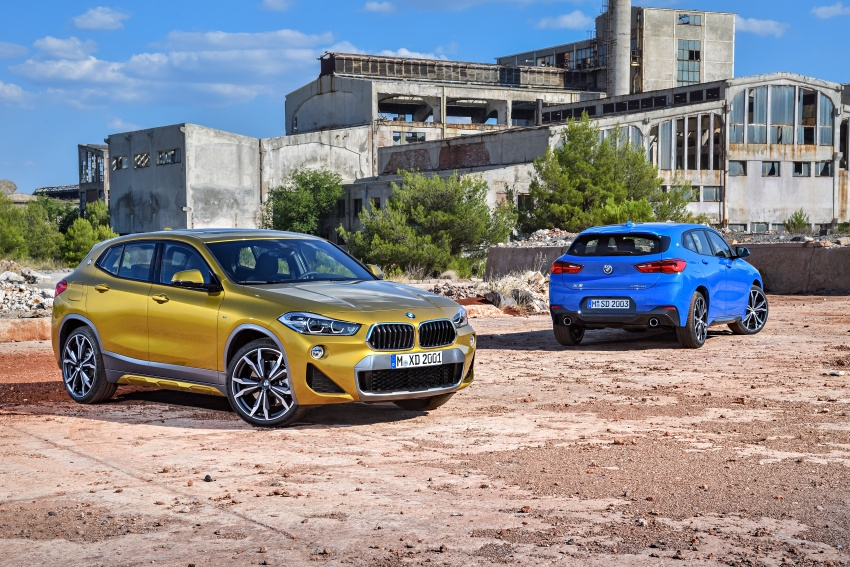 F39 BMW X2 unveiled with new M Sport X package Image #728982