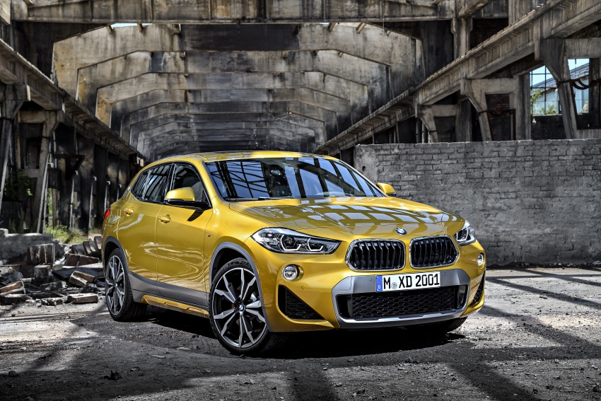 F39 BMW X2 unveiled with new M Sport X package Image #728949