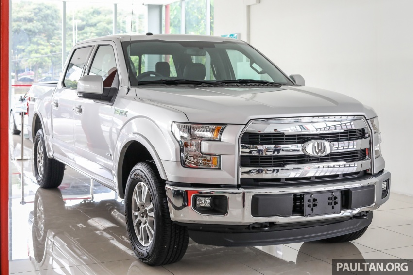 Ford F-150 previewed in Malaysia – CKD right-hand drive, four engine variants available, from RM389k Image #724375