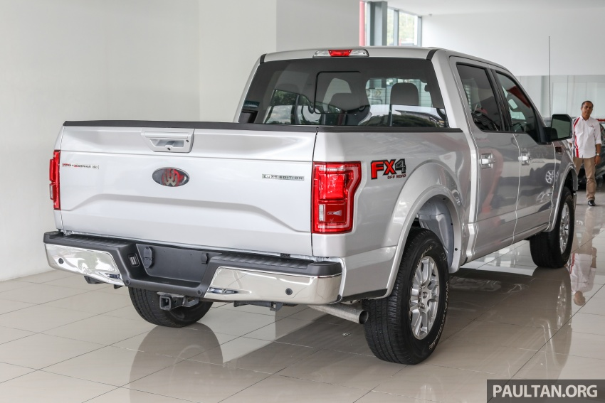 Ford F-150 previewed in Malaysia – CKD right-hand drive, four engine variants available, from RM389k Image #724376
