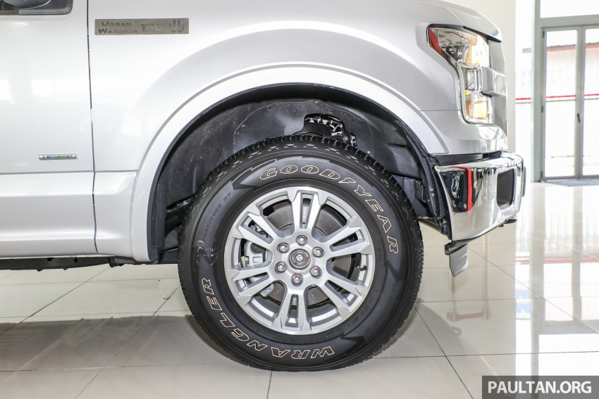 Ford F-150 previewed in Malaysia – CKD right-hand drive, four engine variants available, from RM389k Image #724397