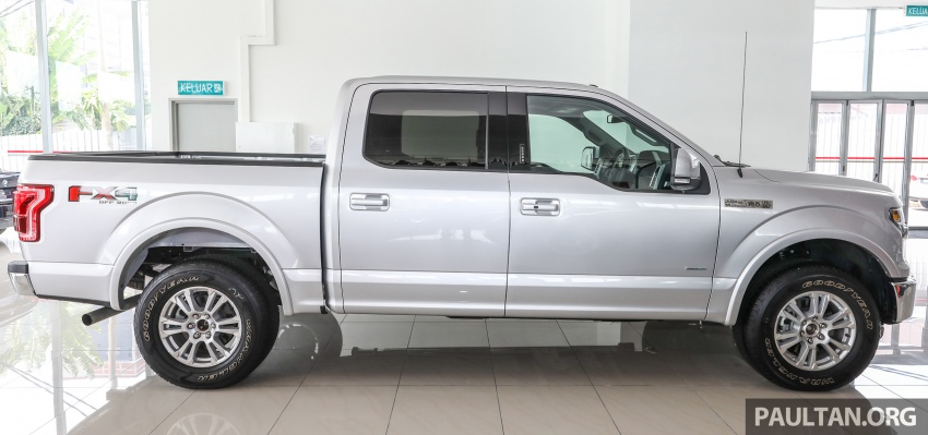 Ford F-150 previewed in Malaysia – CKD right-hand drive, four engine variants available, from RM389k Image #724377