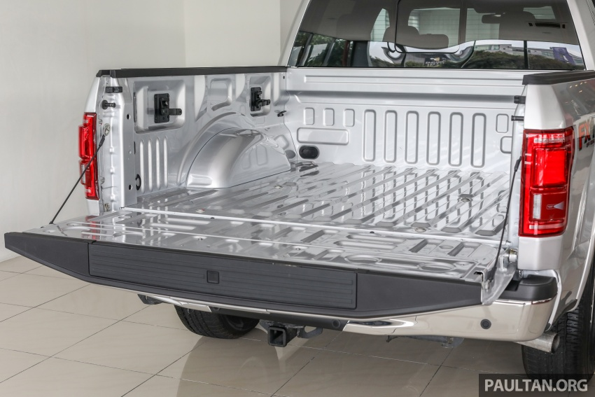Ford F-150 previewed in Malaysia – CKD right-hand drive, four engine variants available, from RM389k Image #724412