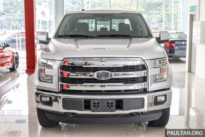Ford F-150 previewed in Malaysia – CKD right-hand drive, four engine variants available, from RM389k Image #724378