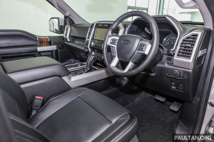Ford F-150 previewed in Malaysia – CKD right-hand drive, four engine variants available, from RM389k Image #724420