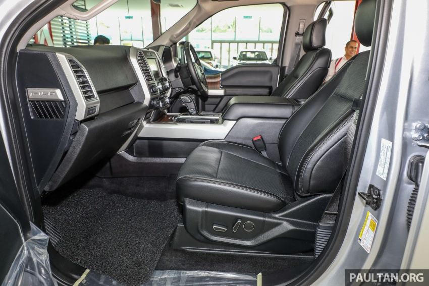 Ford F-150 previewed in Malaysia – CKD right-hand drive, four engine variants available, from RM389k Image #724359