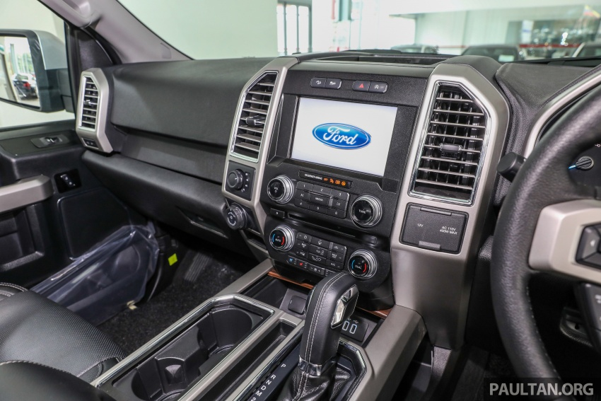Ford F-150 previewed in Malaysia – CKD right-hand drive, four engine variants available, from RM389k Image #724424