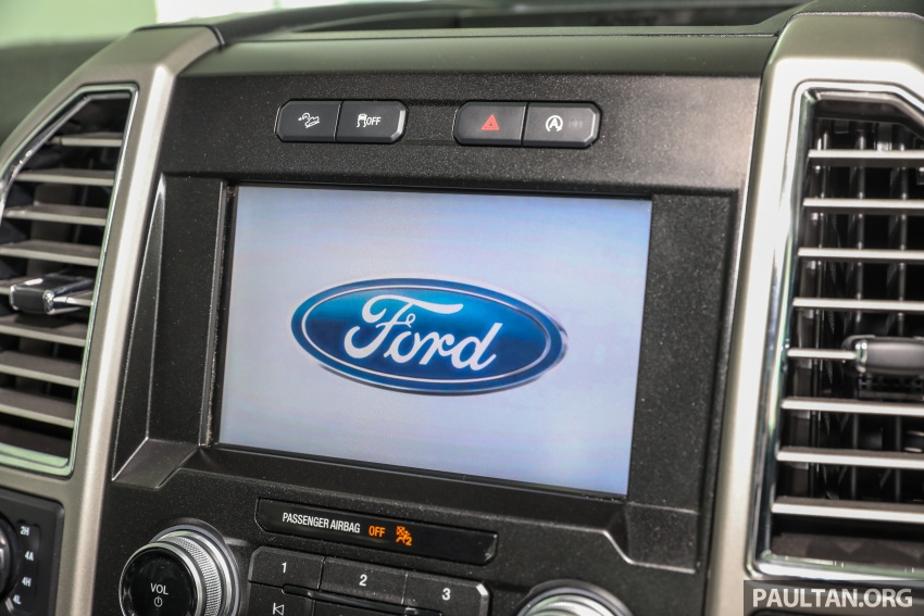 Ford F-150 previewed in Malaysia – CKD right-hand drive, four engine variants available, from RM389k Image #724425