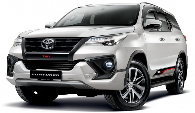 Toyota Car Pricelist Philippines >> Toyota Fortuner updated, now on sale – new 2.4 VRZ 4x2 and 4x4 from RM186k, standard rear disc ...