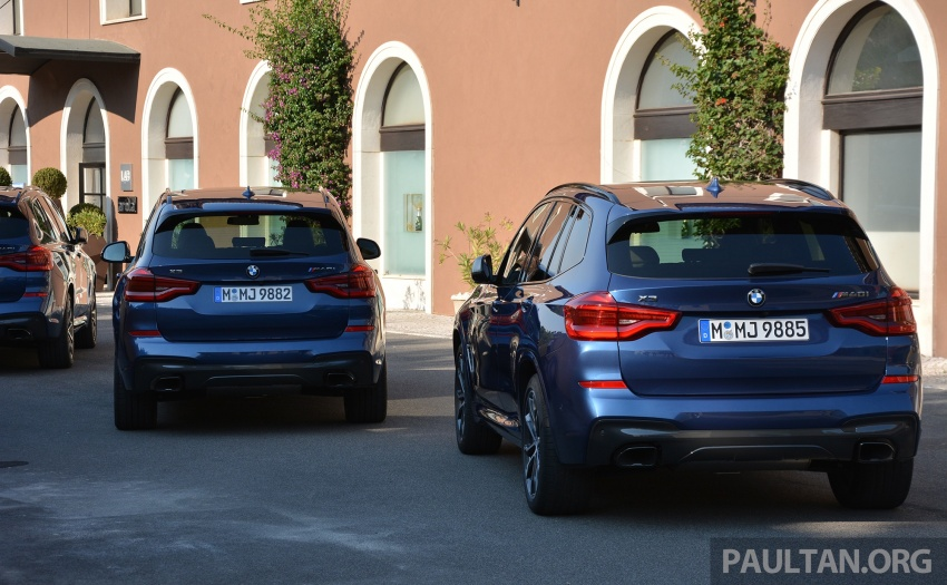 DRIVEN: G01 BMW X3 M40i – same same but better Image #725711