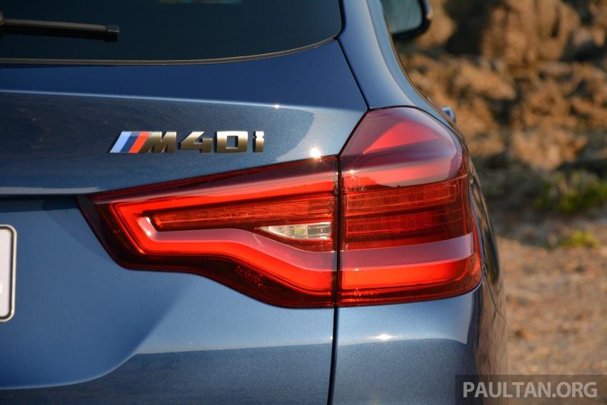 DRIVEN: G01 BMW X3 M40i – same same but better Image #725720