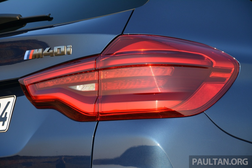 DRIVEN: G01 BMW X3 M40i – same same but better Image #725722