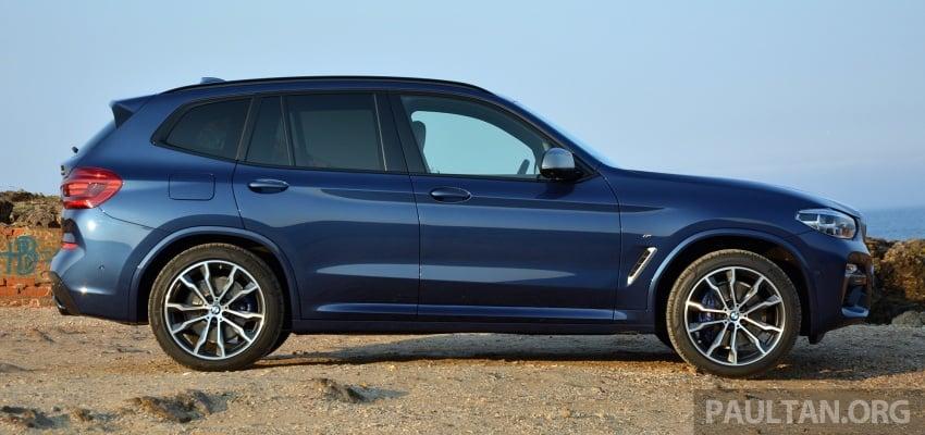 DRIVEN: G01 BMW X3 M40i – same same but better Image #725723