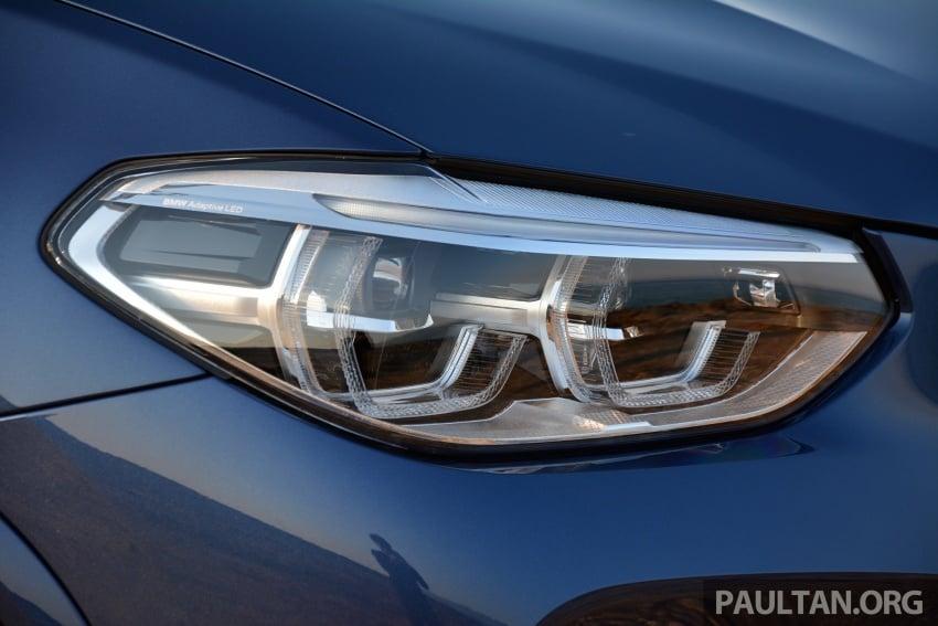 DRIVEN: G01 BMW X3 M40i – same same but better Image #725725