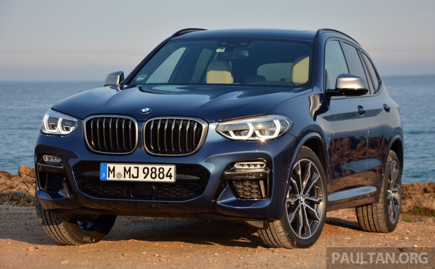 DRIVEN: G01 BMW X3 M40i – same same but better Image #725729