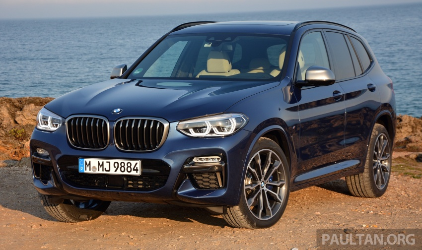DRIVEN: G01 BMW X3 M40i – same same but better Image #725731