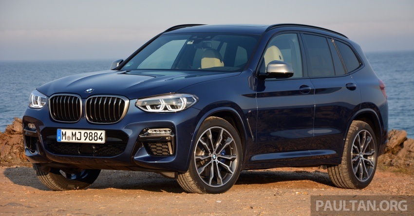 DRIVEN: G01 BMW X3 M40i – same same but better Image #725734