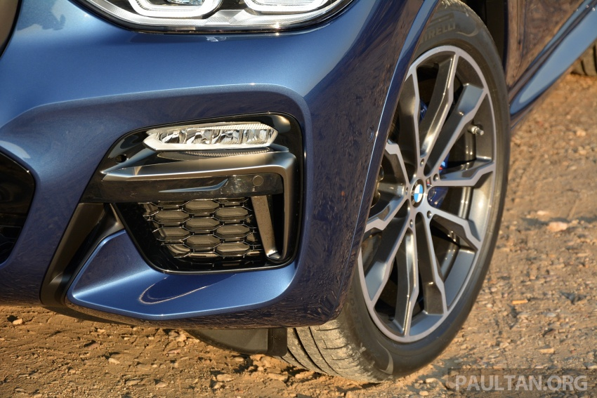 DRIVEN: G01 BMW X3 M40i – same same but better Image #725736