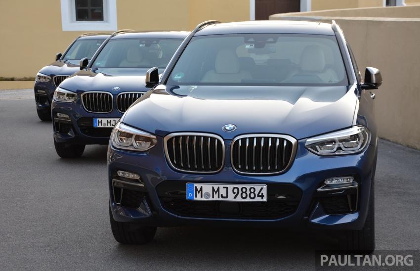 DRIVEN: G01 BMW X3 M40i – same same but better Image #725712