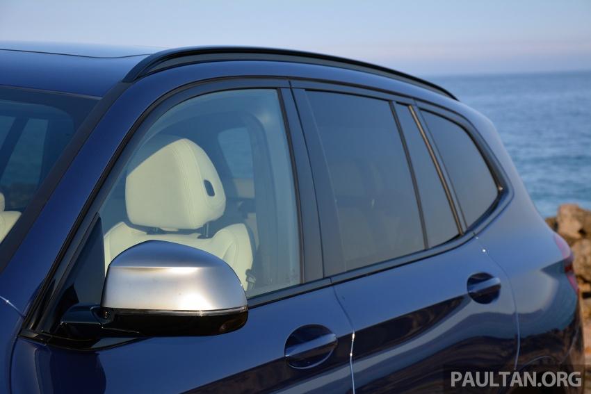DRIVEN: G01 BMW X3 M40i – same same but better Image #725757