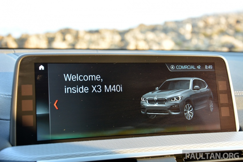 DRIVEN: G01 BMW X3 M40i – same same but better Image #725765