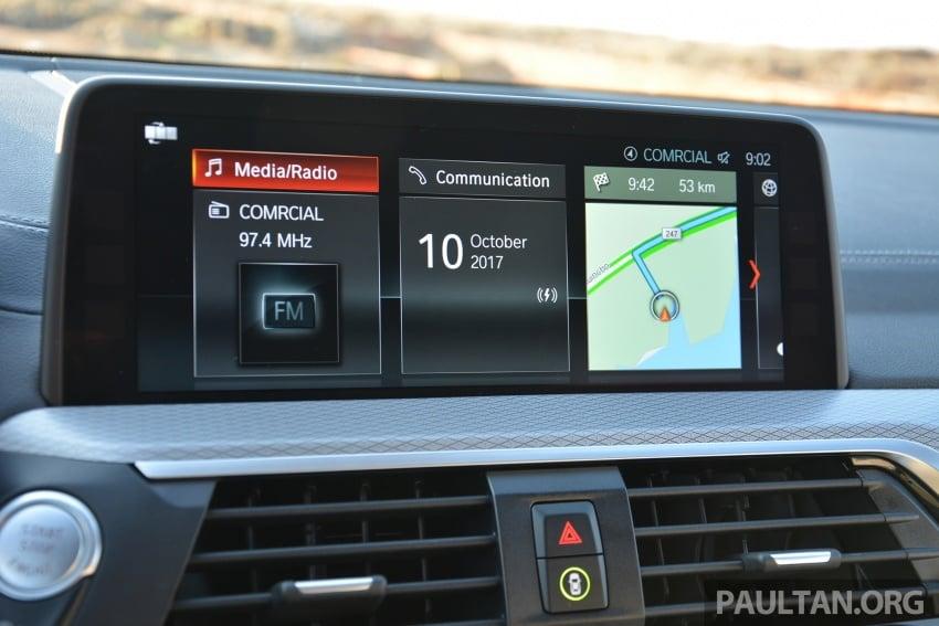 DRIVEN: G01 BMW X3 M40i – same same but better Image #725778