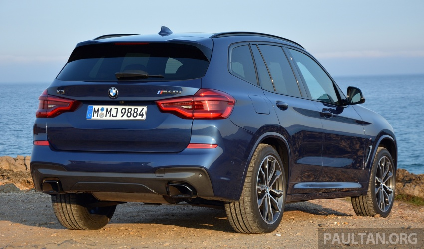 DRIVEN: G01 BMW X3 M40i – same same but better Image #725715