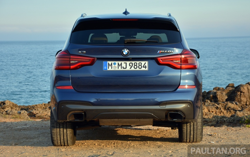 DRIVEN: G01 BMW X3 M40i – same same but better Image #725716