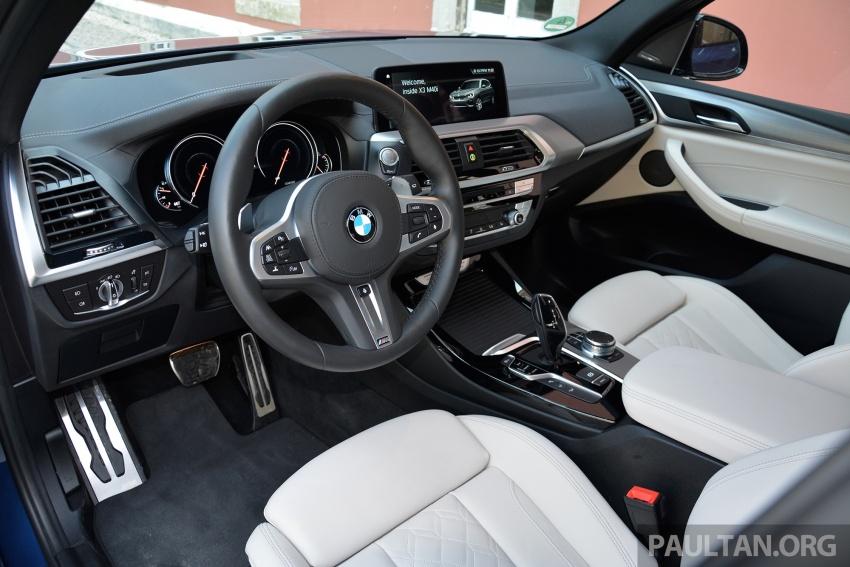 DRIVEN: G01 BMW X3 M40i – same same but better Image #725795