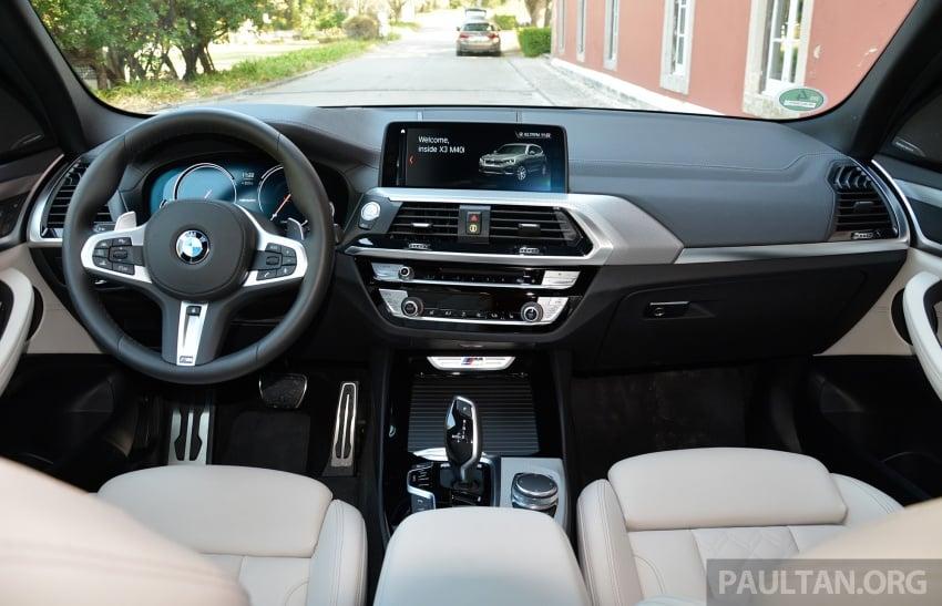 DRIVEN: G01 BMW X3 M40i – same same but better Image #725797