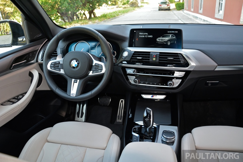 DRIVEN: G01 BMW X3 M40i – same same but better Image #725798