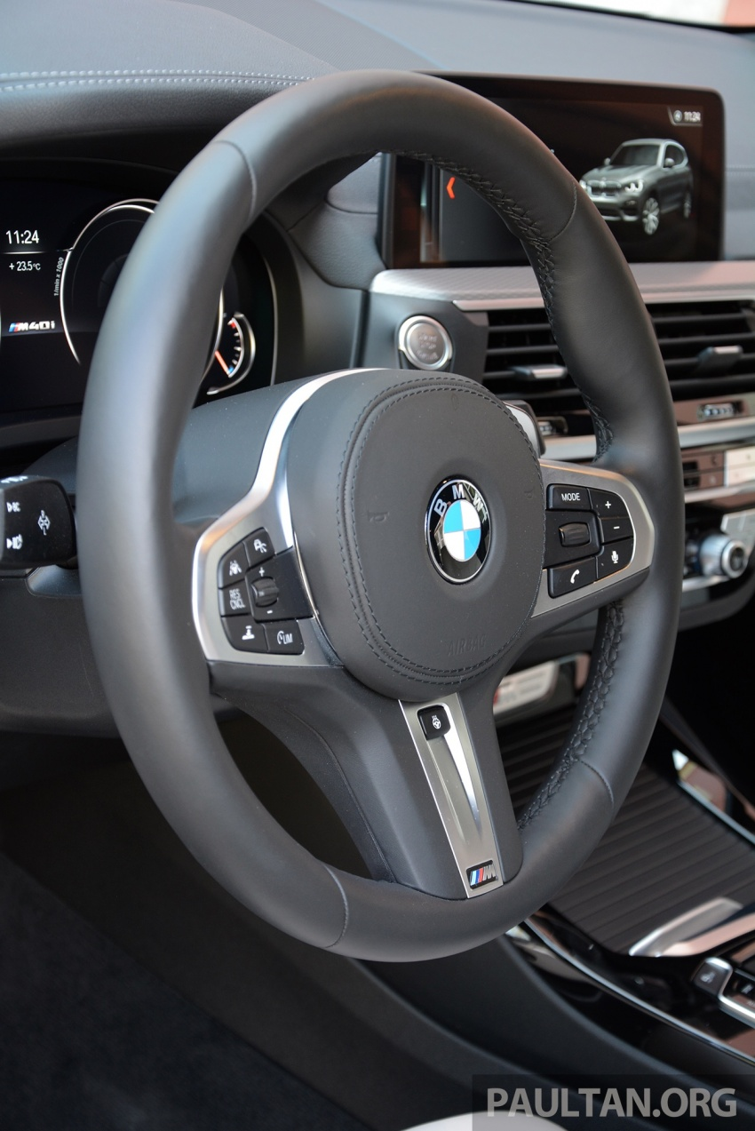 DRIVEN: G01 BMW X3 M40i – same same but better Image #725801