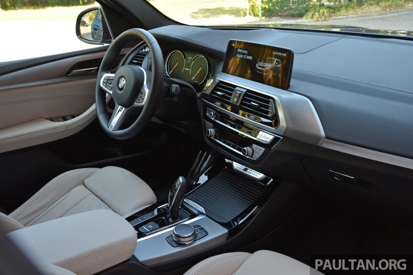 DRIVEN: G01 BMW X3 M40i – same same but better Image #725802