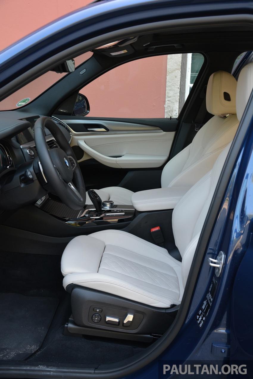 DRIVEN: G01 BMW X3 M40i – same same but better Image #725803