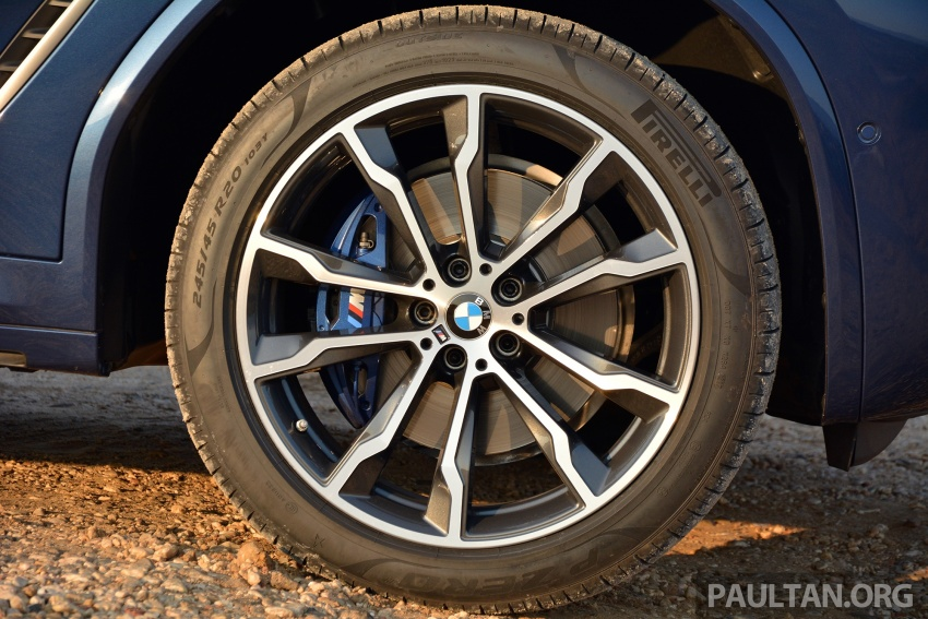 DRIVEN: G01 BMW X3 M40i – same same but better Image #725718