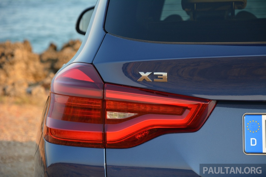 DRIVEN: G01 BMW X3 M40i – same same but better Image #725719
