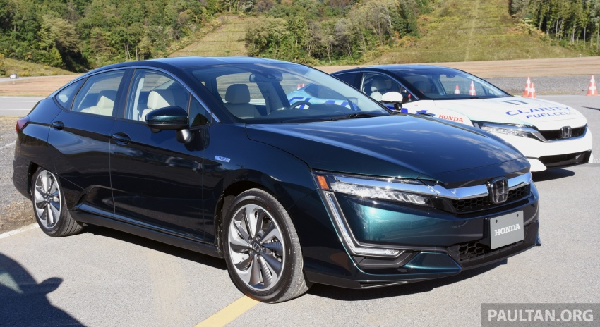 DRIVEN: Honda Clarity Fuel Cell and Plug-In Hybrid in Japan – offering a clearer insight to the future Image #727450