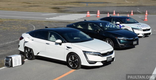 Driven Honda Clarity Fuel Cell And Plug In Hybrid In Japan