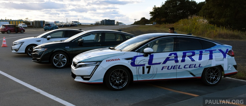DRIVEN: Honda Clarity Fuel Cell and Plug-In Hybrid in Japan – offering a clearer insight to the future Image #727427