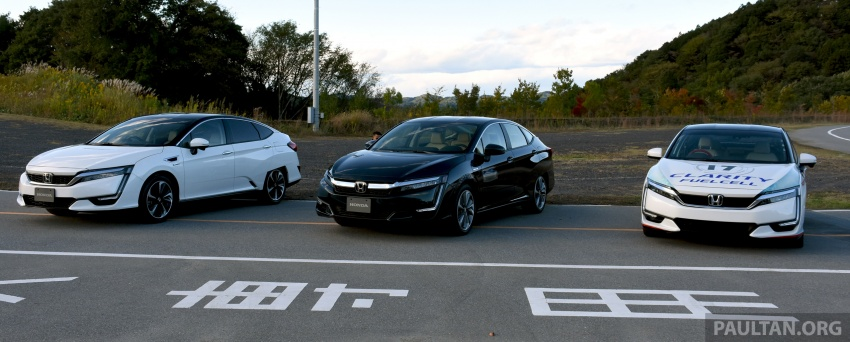 DRIVEN: Honda Clarity Fuel Cell and Plug-In Hybrid in Japan – offering a clearer insight to the future Image #727428