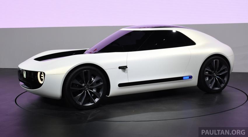 Tokyo 2017: Honda Sports EV Concept tampil perdana Image #728377
