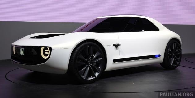 Tokyo 2017 Honda Sports EV Concept breaks cover
