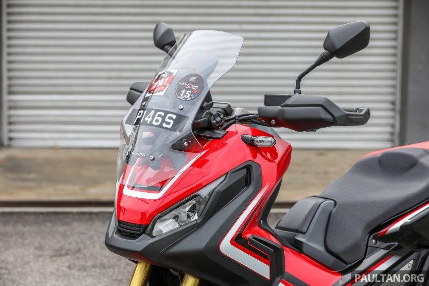 FIRST RIDE: 2017 Honda X-ADV adventure scooter Image #730105