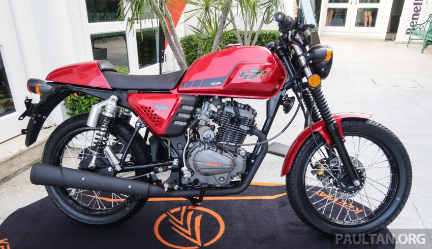 2018 Keeway K-Light 202 retro, Cafe Racer 152 and Patagonian Eagle 250 in Malaysia – from RM6,521 Image #725128